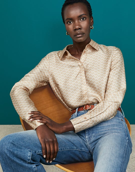 Janette Blouse and Wyckoff Jean