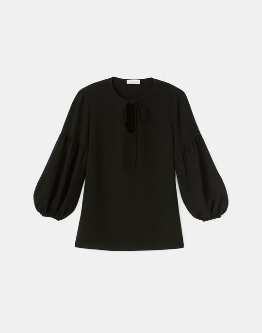Lupe Blouse In Finesse Crepe