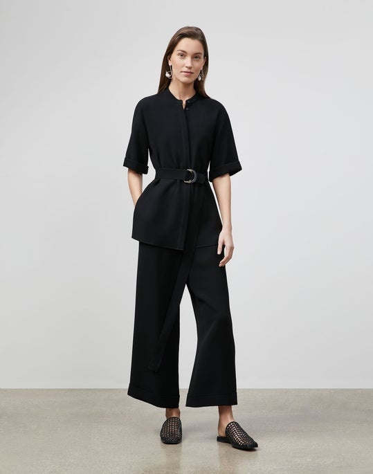 Alyse Blouse In Finesse Crepe