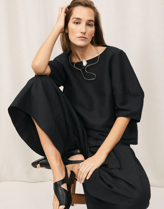 Cait Blouse and Gavin Pant