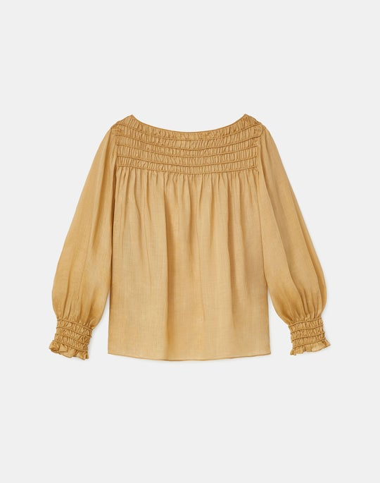Plus-Size Paley Blouse In Gemma Cloth