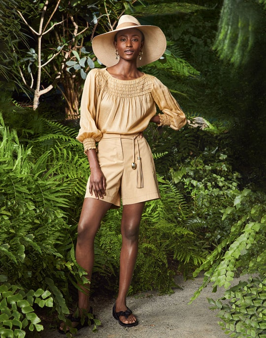 Paley Blouse and Fulton Short