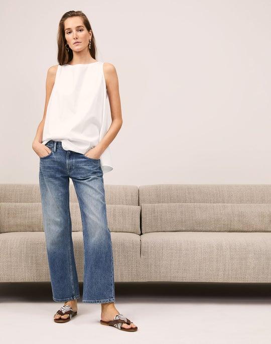 Isa Shirt and Bedford Jean