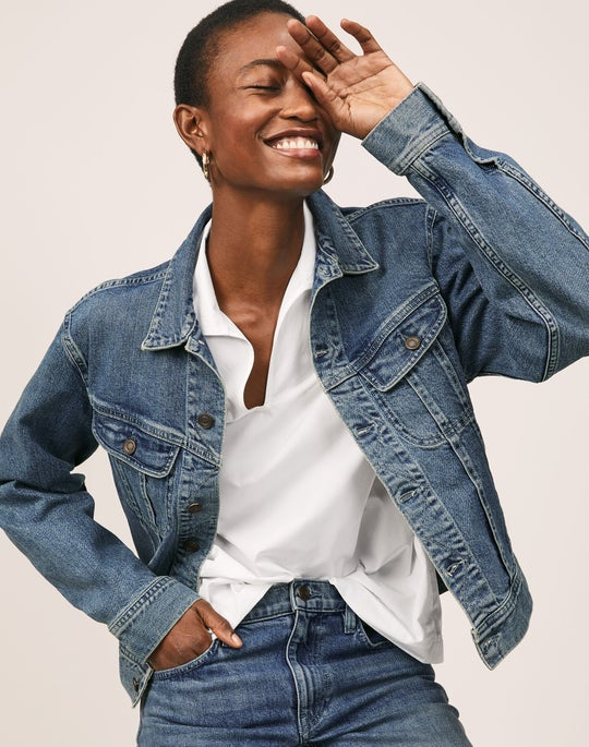 Dales Shirt and Cropped Wyckoff Jean