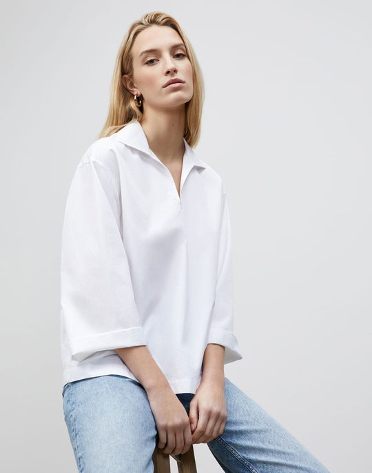 Dales Shirt In Italian Sculpted KindCotton