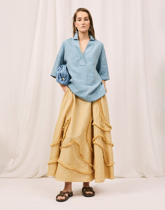 Pippen Blouse and Helena Skirt
