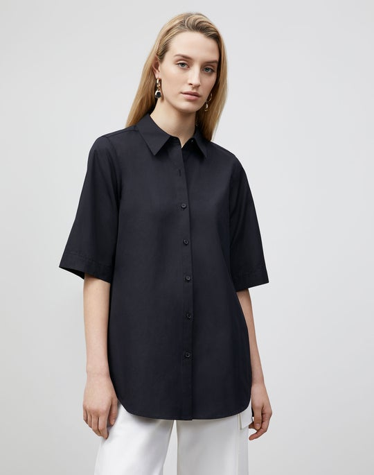 Petite Sedwick Shirt In Italian Sculpted KindCotton