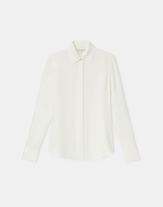 Esther Blouse In Silk Double Georgette