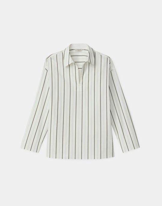 Kirby Shirt In KindCotton York Stripe