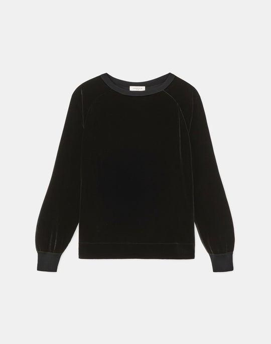 Calver Sweatshirt In Classic Velvet