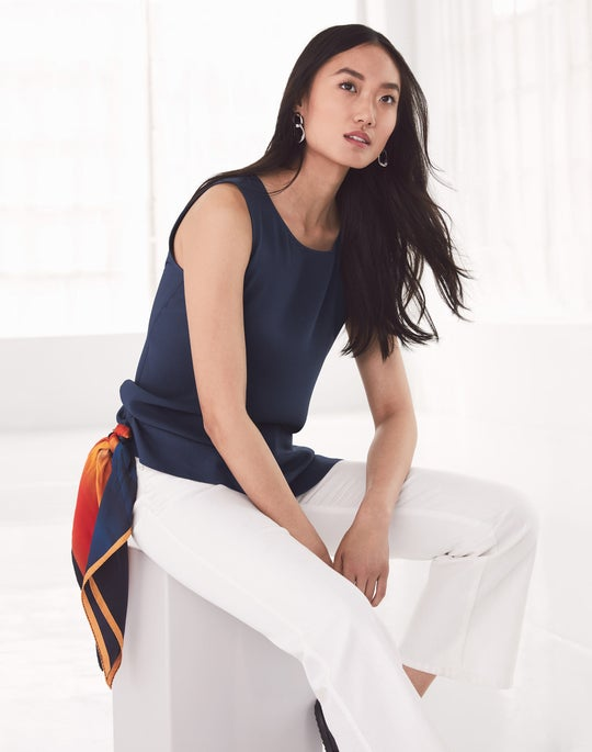 Ruthie Blouse and Fulton Jean