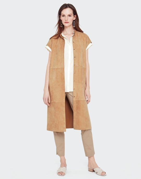 Suede Antonella Duster and Stanton Pant