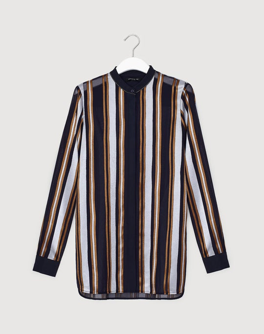 Petite Ethereal Stripe Brayden Shirt