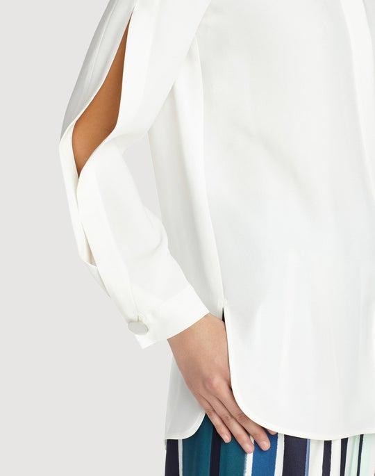 Silk Double Georgette Rowan Blouse