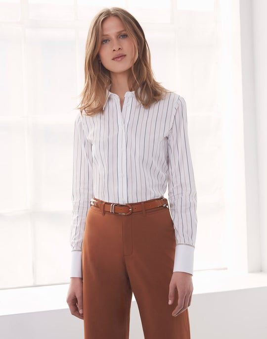 Linley Blouse and Cropped Clark Pant