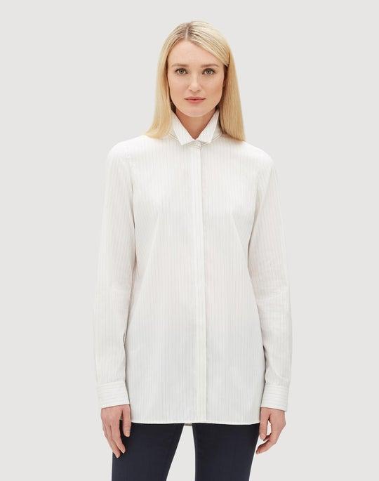 Plus-Size Stanford Stripe Bray Shirt