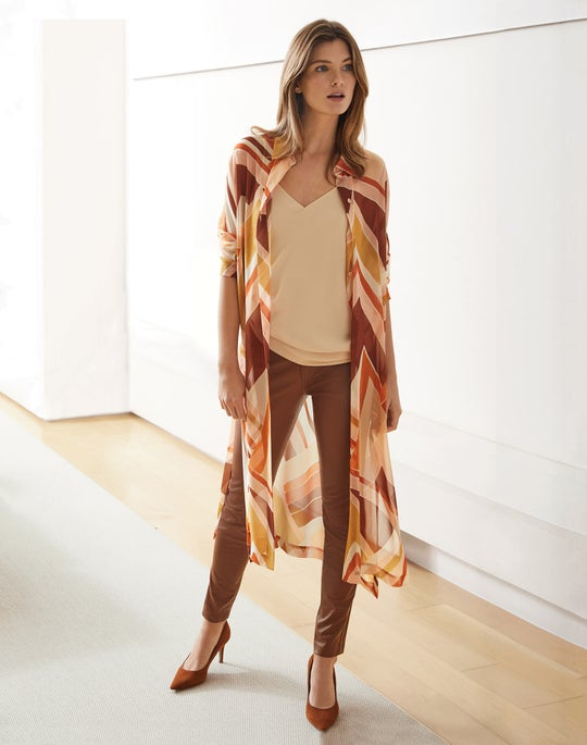 Kyrie Duster and Mercer Pant