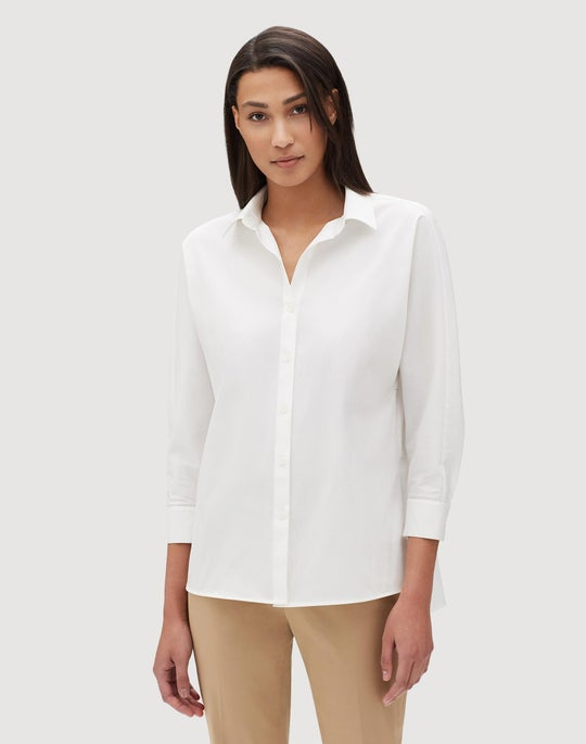 Italian Stretch Cotton Felicity Shirt
