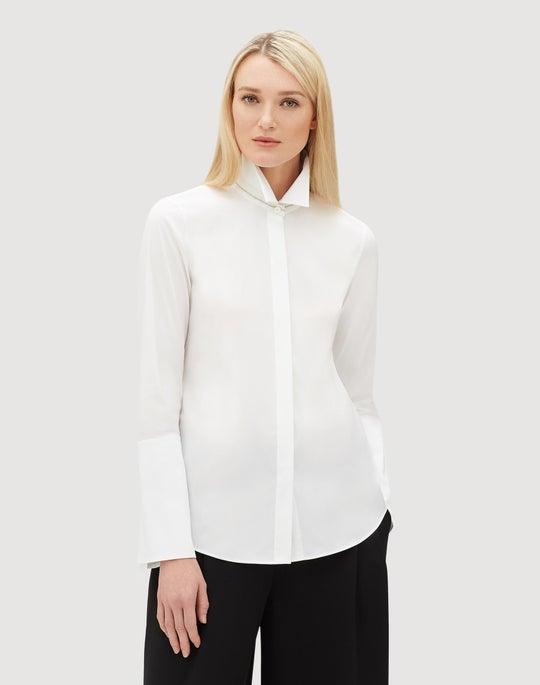 Italian Stretch Cotton Cynthia Shirt