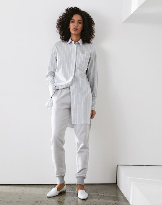 Marvin Boyfriend Shirt and Chambers Track Pant