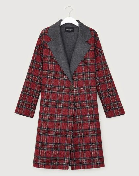 Archival Plaid Braylie Coat