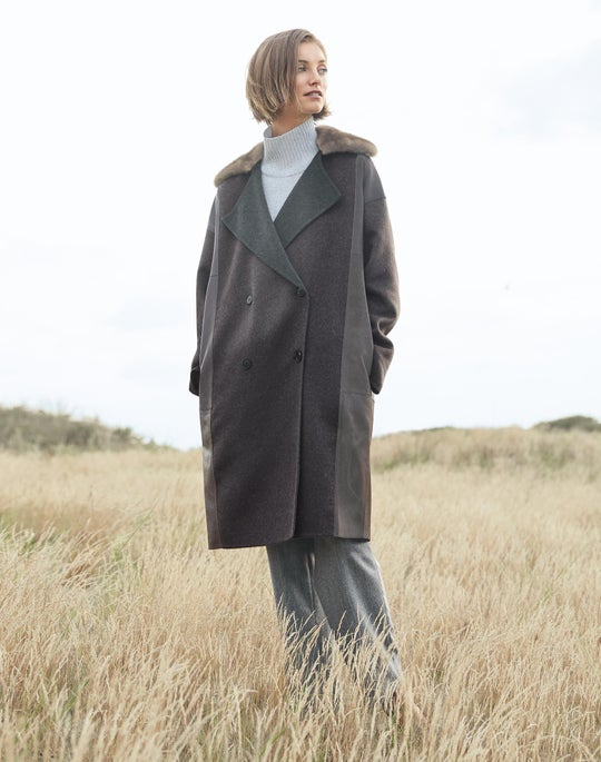 Cashmere Laurita Coat and Fulton Pant