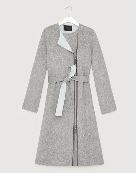 Two-Tone Double-Face Parissa Coat
