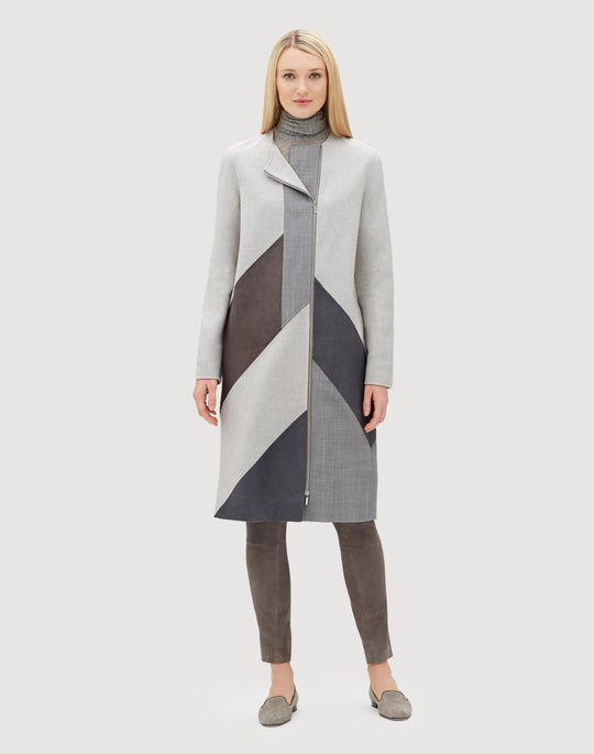 Atrium Double Face Cloth Rue Coat