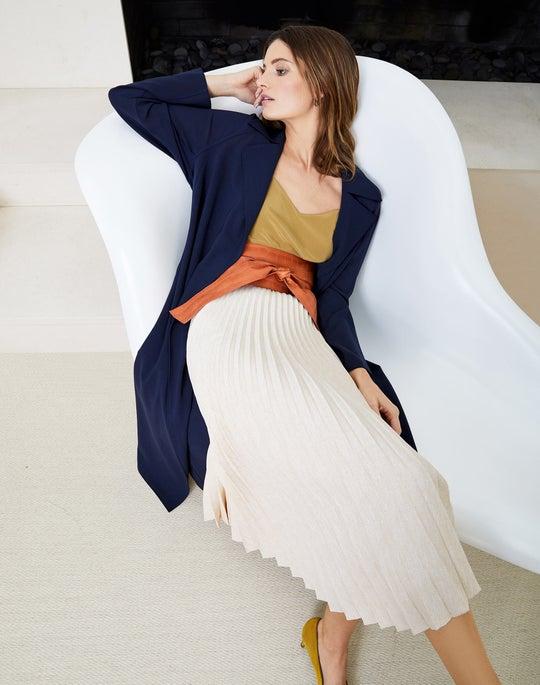 Kalena Coat and Florianna Skirt