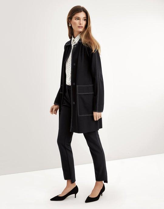 Maryann Car Coat and Manhattan Pant