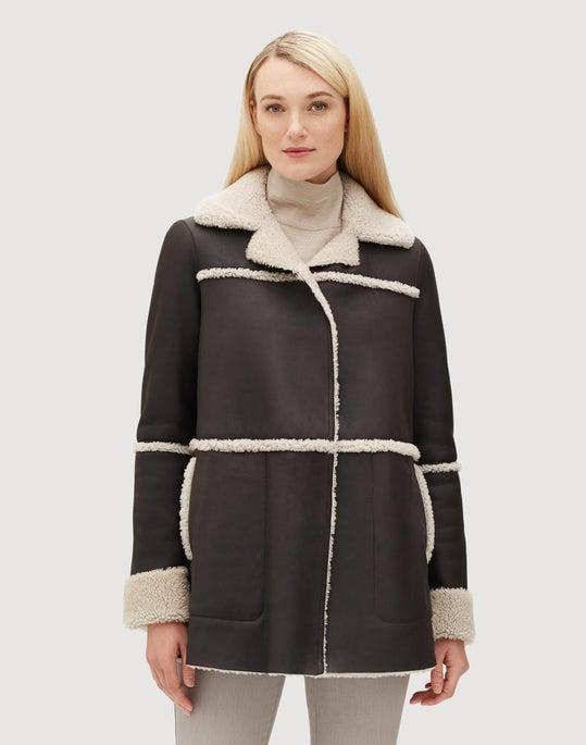 Metro Shearling Rosalinda Coat