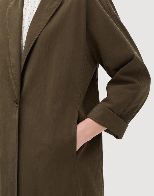 Sueded Tech Cloth Joellen Coat