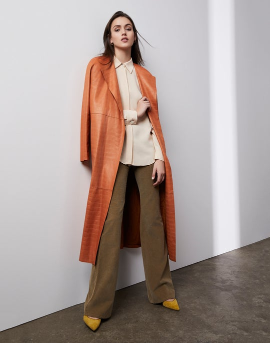 Mirabella Trench Coat and Mercer Flare Pant