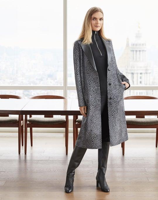 Octavia Trench Coat and Gramercy Pant