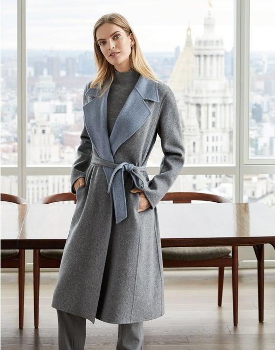 Reversible Zelida Coat and Bleecker Pant