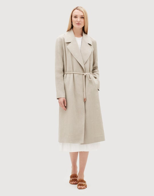 Canvas Cloth Zelida Trench Coat