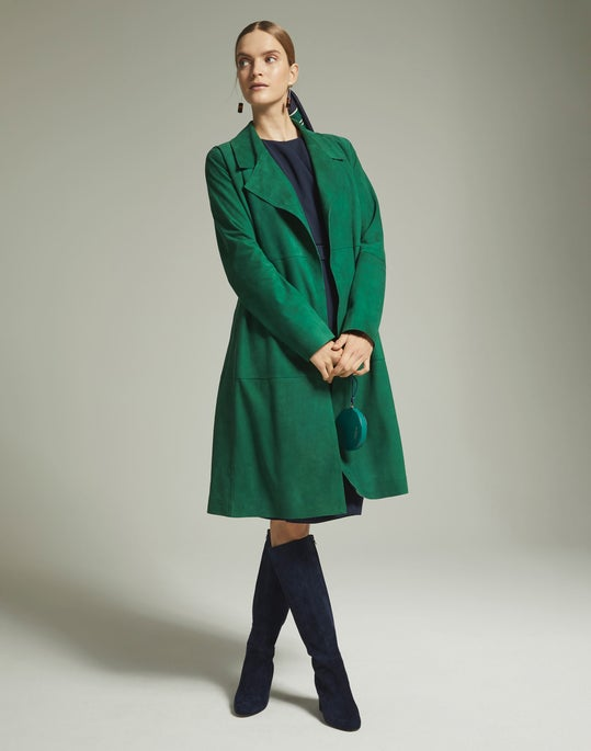 Zelida Coat and Jude Dress