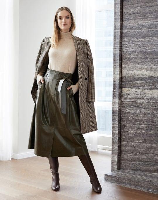 Emmalyse Coat and Cass Skirt
