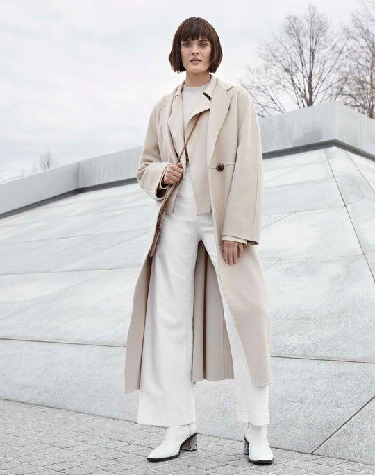 Sondra Coat and Ankle Clark Jean