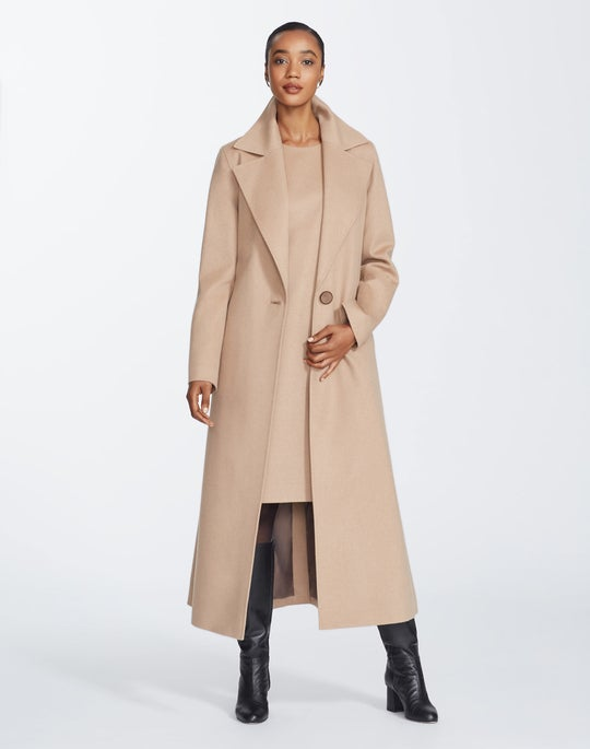 Camel Hair Michael Trench Coat