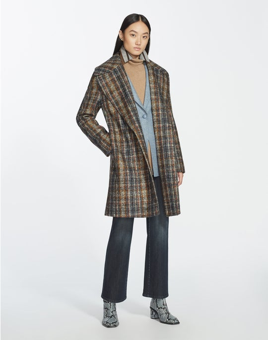 Artisan Plaid Lebell Coat