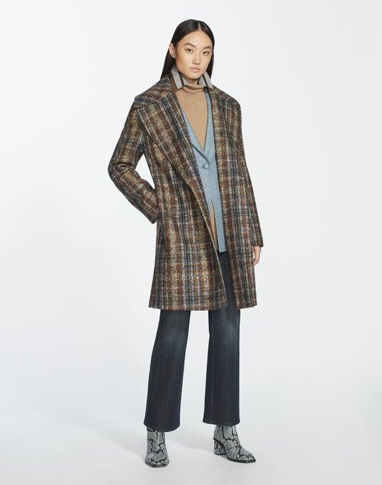 Artisan Plaid Lebell Coat