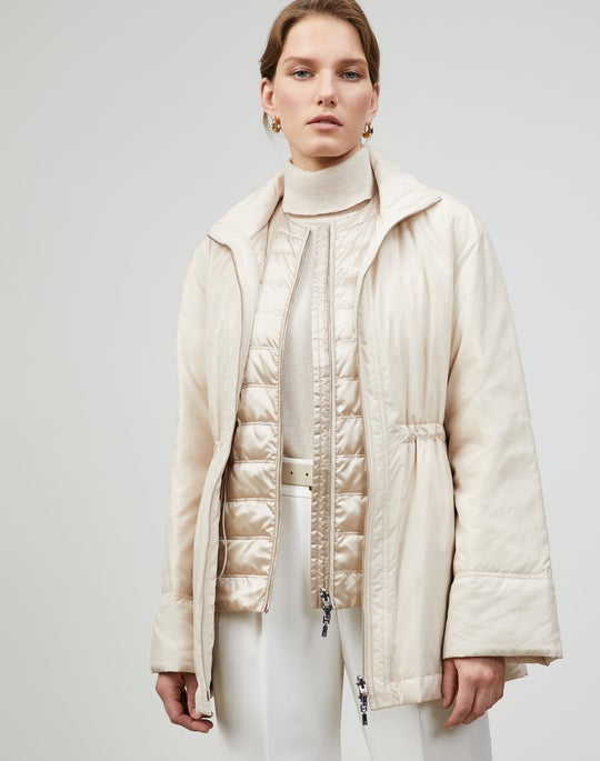 Plus-Size Alpine Outerwear Reversible Calvin Coat