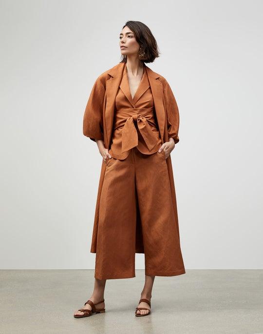 Coastal Cloth Pollack Trench Coat