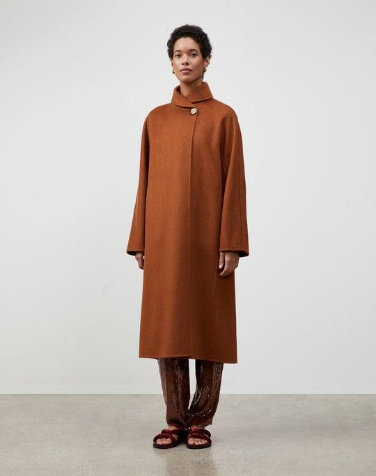 Brushed Cashmere Yara Coat