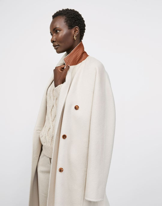 Jasper Coat and Ellis Pleated Pant