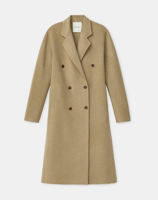 Plus-Size Jasper Coat In Luxe Cashmere
