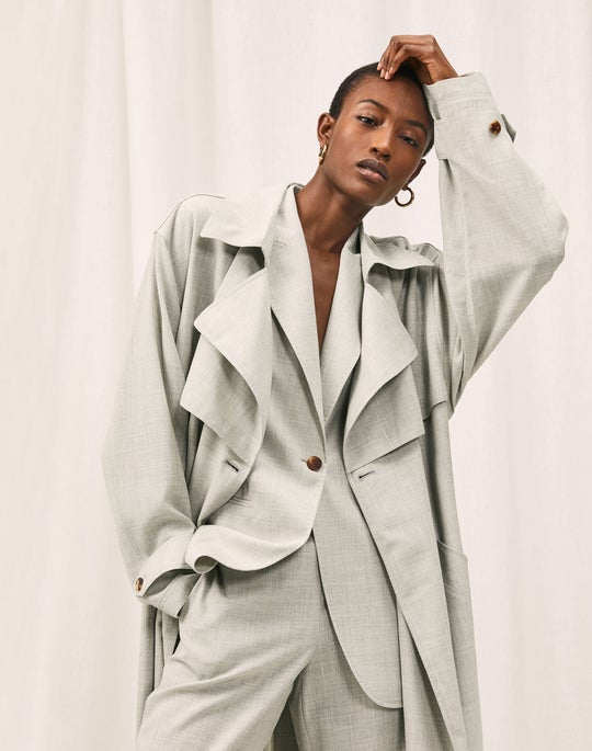 Blake Trench Coat and Riverside Pant