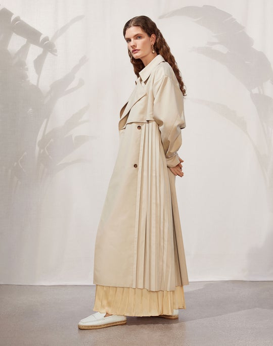 Blake Trench and Willow Dress
