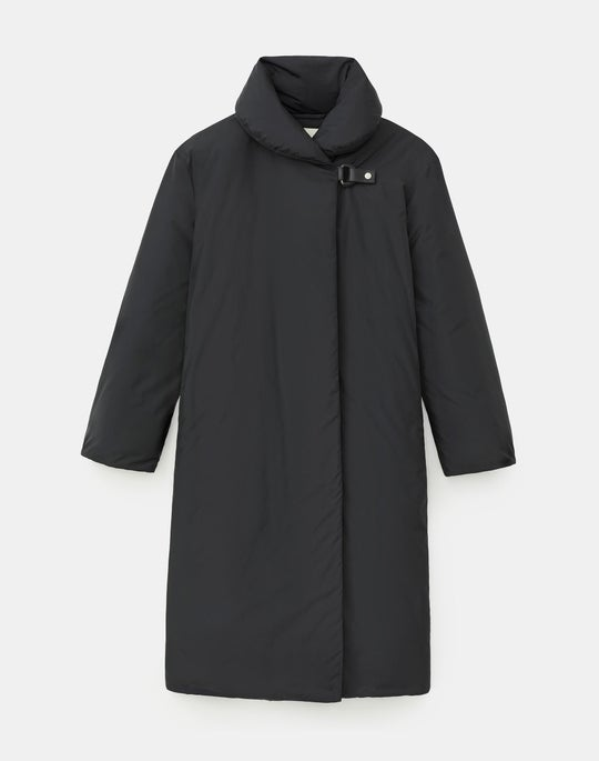 Cassidy Down Coat In KindMade Feather Tech